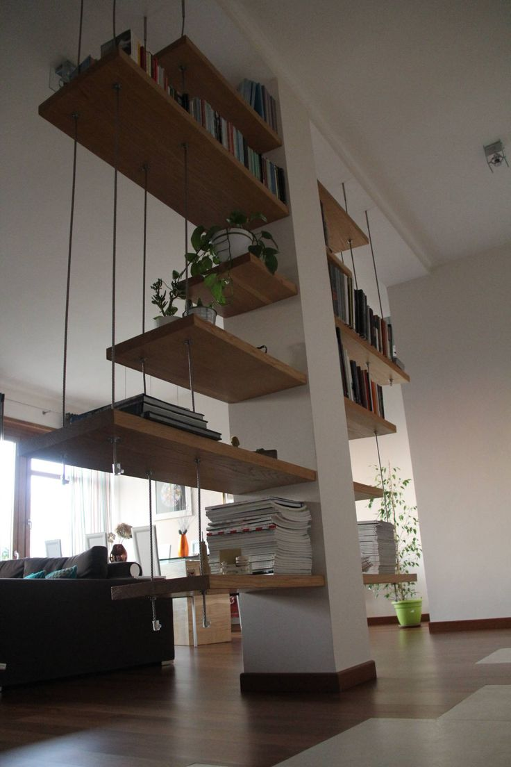 12 best Pilastro in soggiorno images on Pinterest  Architecture interior design Book shelves