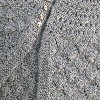 Lucille. Free pattern from The Fibre Company hand knitted Pinterest