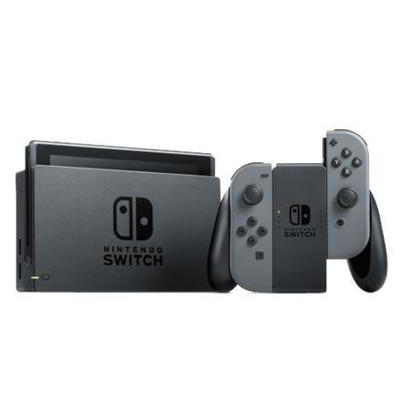 Nintendo Switch HW Gray  — 22499 руб. —  Nintendo Switch - инновационная игровая консоль-гибрид. Ее не только можно подключить к телевизору, она также мгновенно превращается в портативную игровую систему с экраном 6,2 дюйма. Впервые игроки смогут наслаждаться масштабными игровыми проектами, типичными для домашних консолей, где угодно и когда угодно. Игровая консоль поддерживает amiibo и многопользовательскую локальную/онлайн игру на 8 человек.Многофункциональные контроллеры Joy-Con…