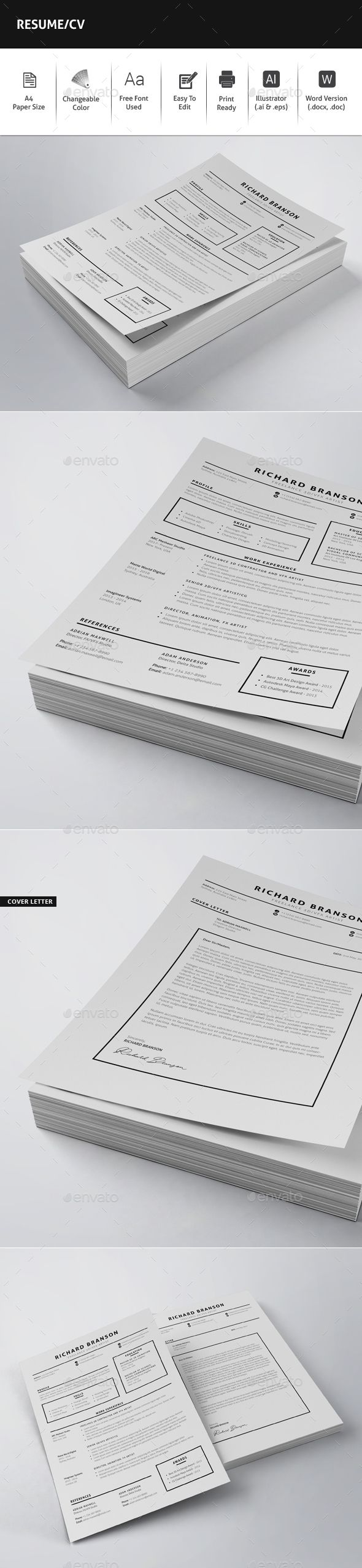 ResumeCV 32 best CV images on Pinterest