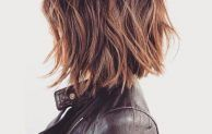 NEW WAYS TO STYLE YOUR LONG BOB HAIRCUT WITH BANGS THIS FALL