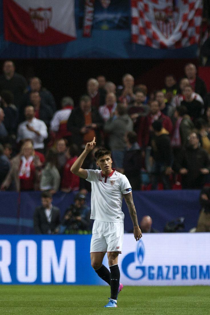 @Sevilla El 'Tucu' #Correa #SFC #SevillaFC #VamosMiSevilla #9ine