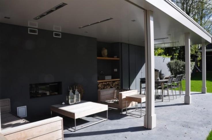 Modern veranda veranda pinterest - Veranda modern huis ...