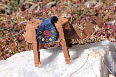 My Mommy Makes It: Camel Craft for Nauryz