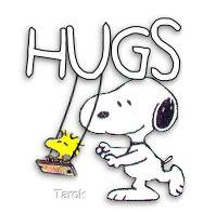 Snoopy Hugs gif by toodlesbemine | Photobucket