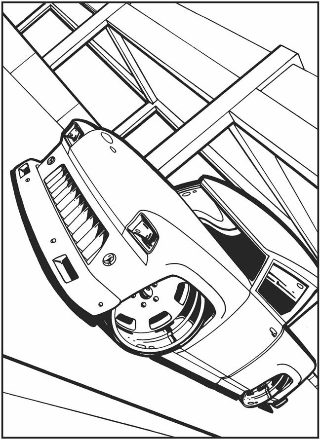 crazy car coloring pages - photo#6