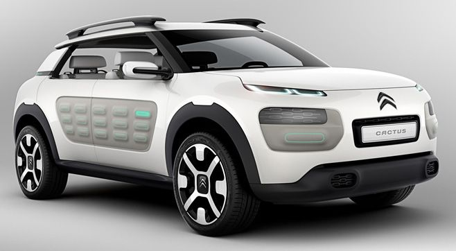 Citroën Cactus : upcoming concept at IAA 2013 ... Production coming in February. Interesting.