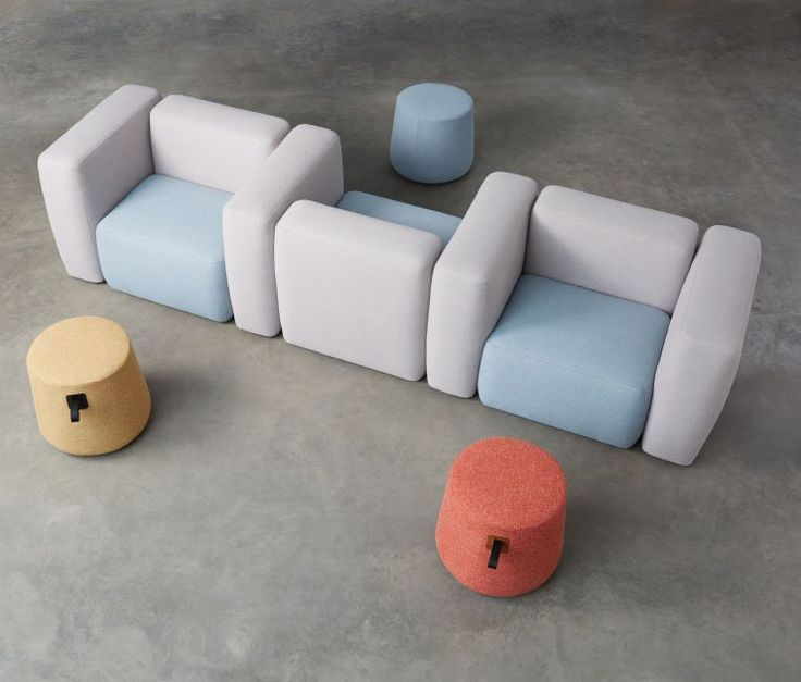 Kona Modular Lounge Tablet Table The Collection Is A Seating Group Equipped With Interesting Surface Accessories Storage And Ottomans