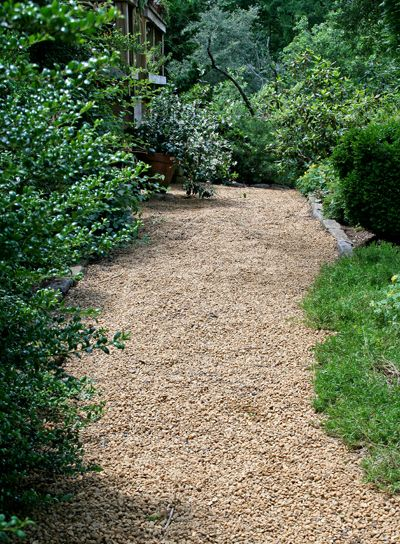 33 best images about garden paths on pinterest gardens - How to make a garden path with gravel ...