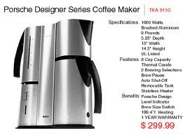 my Porsche design coffee maker from Bosch..not made anymore..so unique and makes great coffee ...