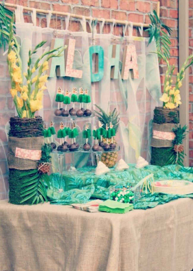 Vintage Luau Party