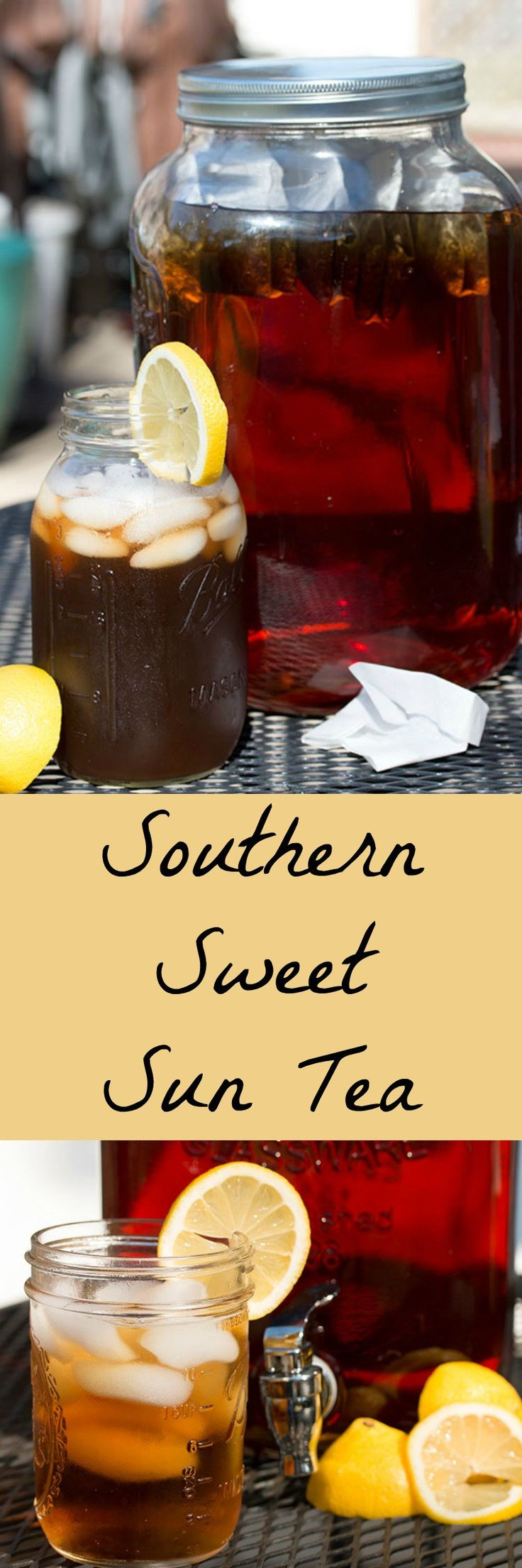 Sweet tea is as southern as it gets! This one is sun kissed!