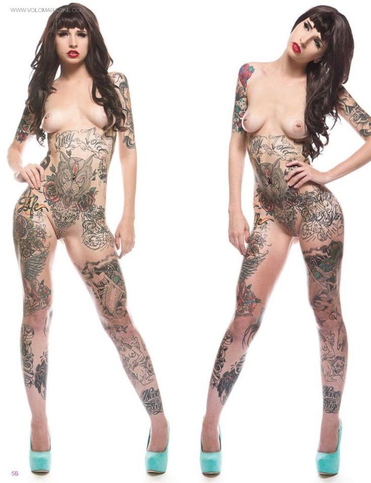 Hotties tattooed and pierced