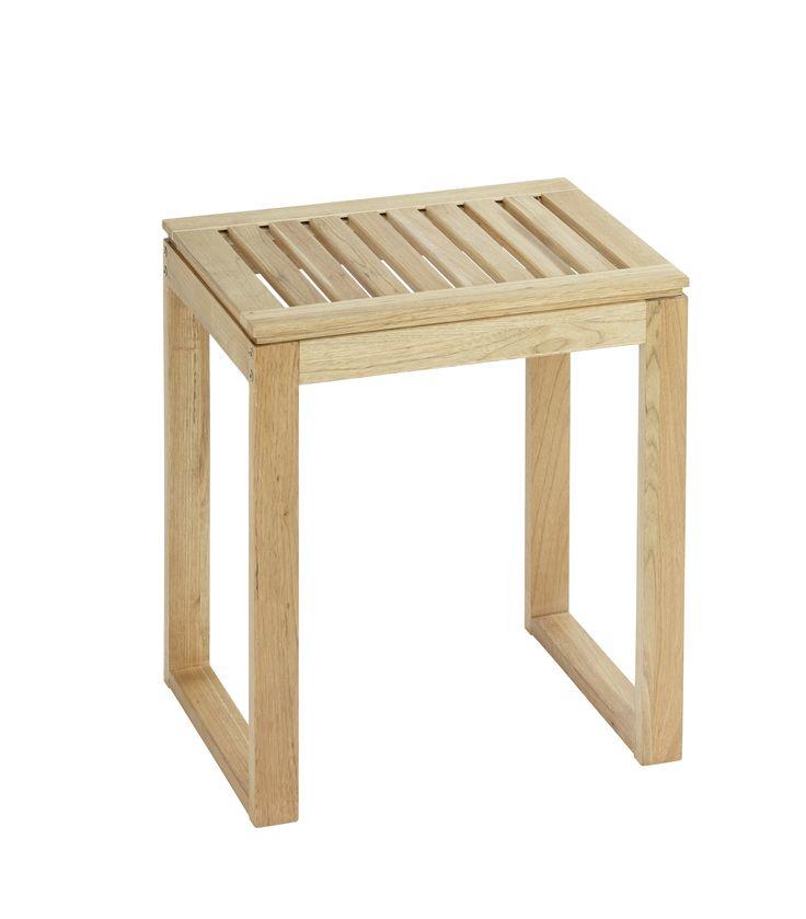 WENKO Hocker Norway Badhocker massives Walnussholz  Description: Die warme Ausstrahlung des Naturholzes die schlichten Formen und praktischen Einsatzmöglichkeiten der Möbel-Serie NORWAY machen sie zu einer idealen Kombination aus Design und Funktionalität für das Wohnambiente. Viel Stauraum unter der Sitzfläche bietet der praktische Badhocker aus der Badserie NORWAY. Die großzügige Sitzfläche lädt jederzeit zum Sitzen ein. Ebenso ist der Hocker auch als Ablagefläche für Hand- Bade- oder…