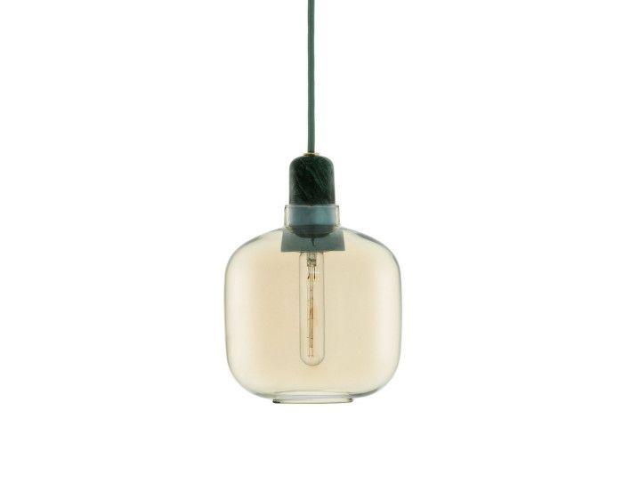 Lampa Amp malá zlatá