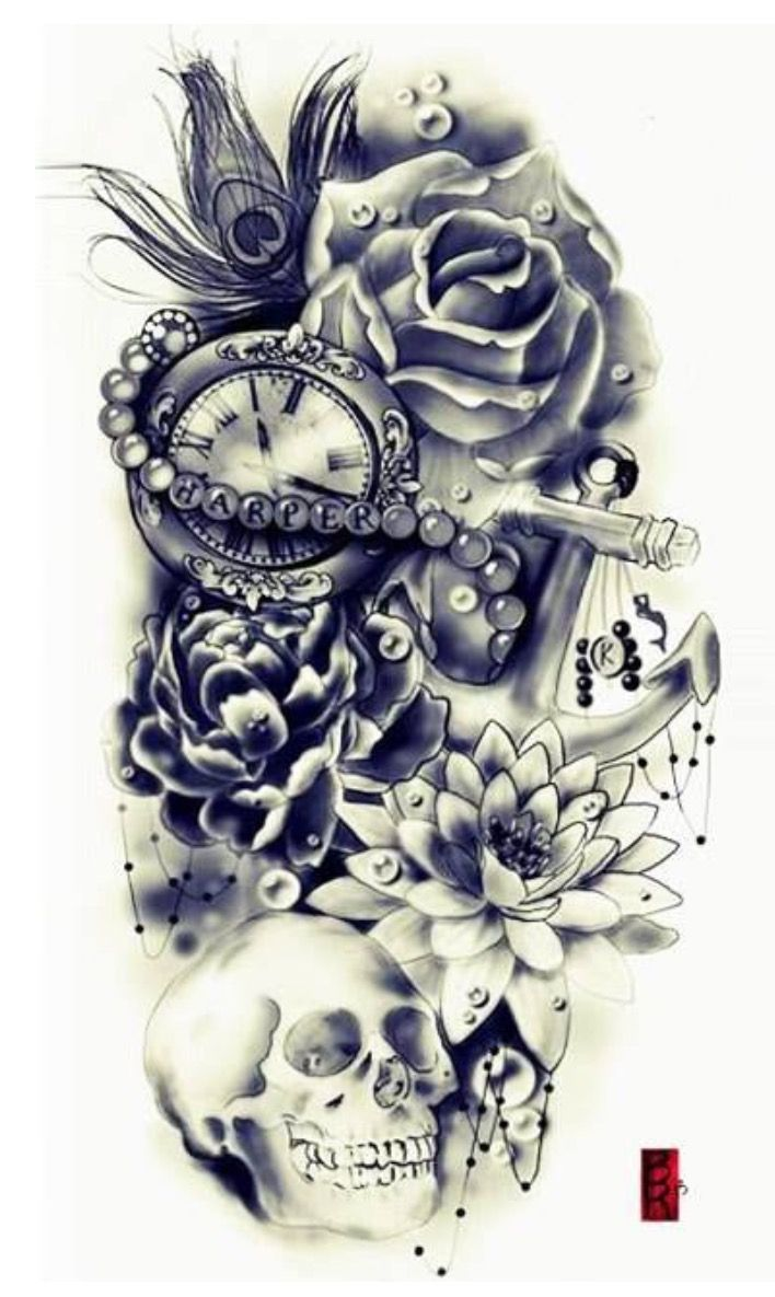 Tats pinterest gun tattoos skulls and tattoos and body art - No Skull Or Peacock Feather Find This Pin And More On Tattoo