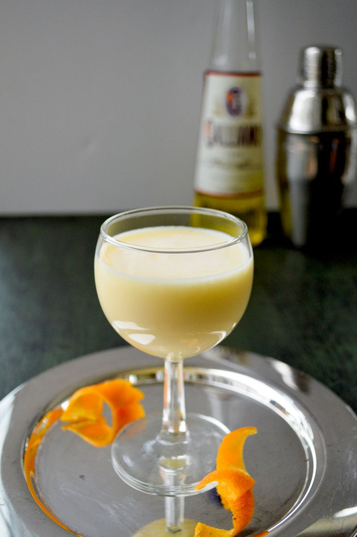 "This Golden Dream Cocktail is a creamy, sophisticated ""orange dreamsicle"" beverage with Galliano liqueur. A golden dream indeed."