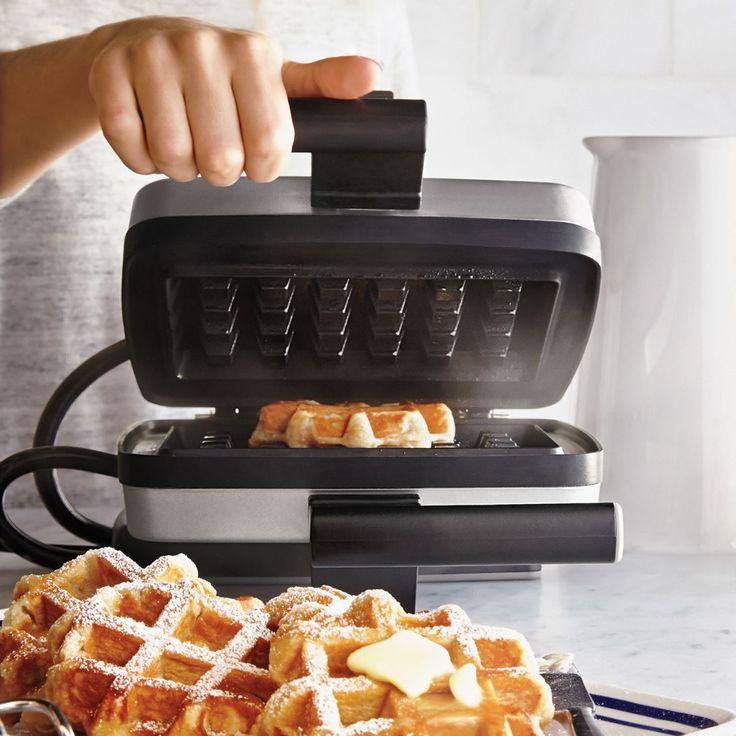 Croquade Waffle Maker   Sur La Table $200 includes traditional waffle plate, stuffed waffle plate & recipe book ❤️