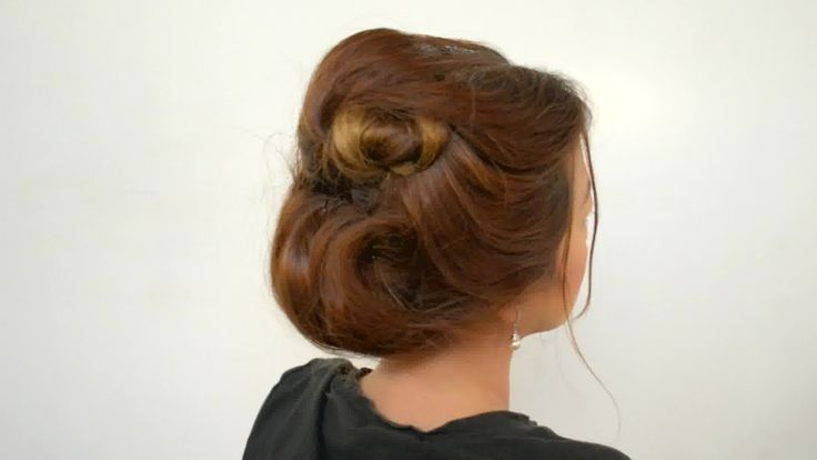 How to Make a Gibson Girl Bun