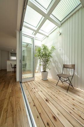 狭小住宅の中庭提案
