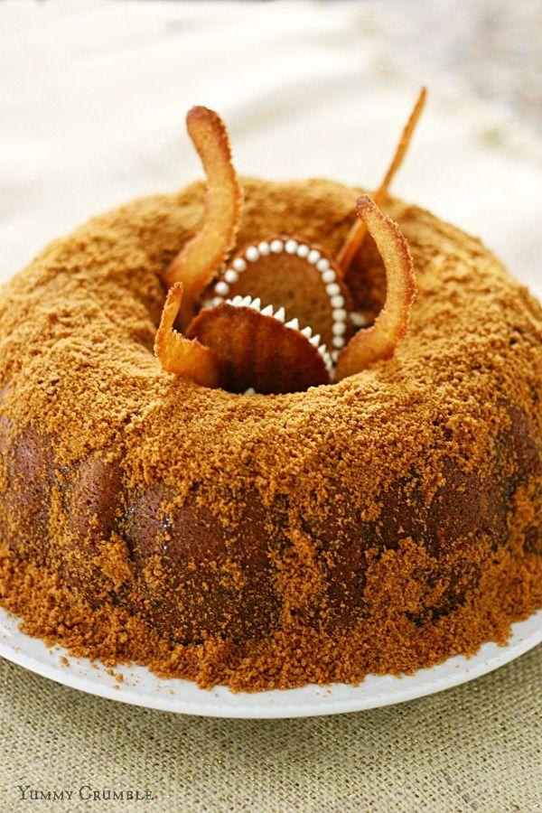 Star Wars Sarlacc Caramel Bundt Cake
