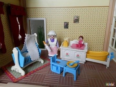 1000 images about klikobil playmobil occasion on for Chambre playmobil