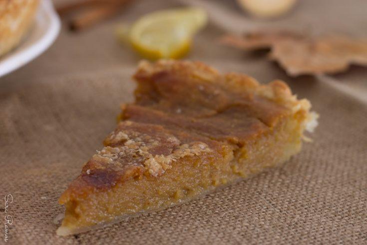 Tarte de batata doce com especiarias