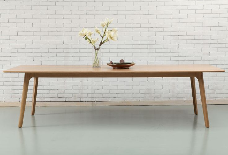 Magnus Dining Table - Solid Oak - 280x100cm - ICON BY DESIGN