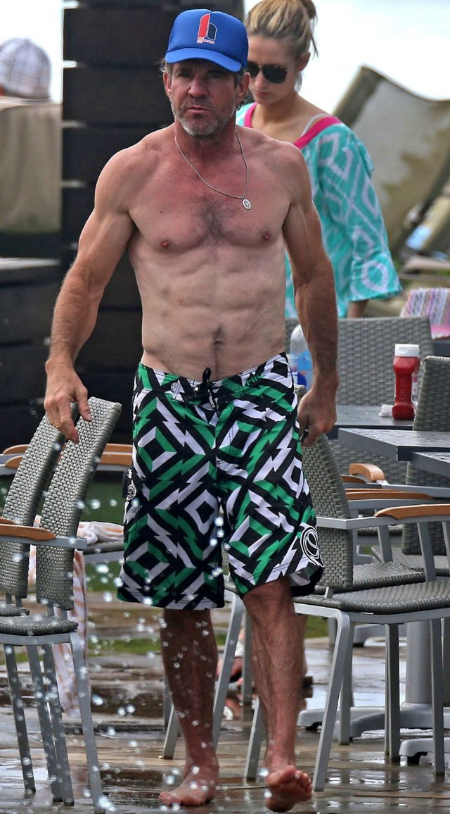 61-Year-Old Dennis Quaid Shows Off Insanely Ripped Bod