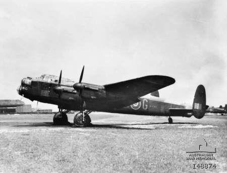 The original 'G for George' aeroplane