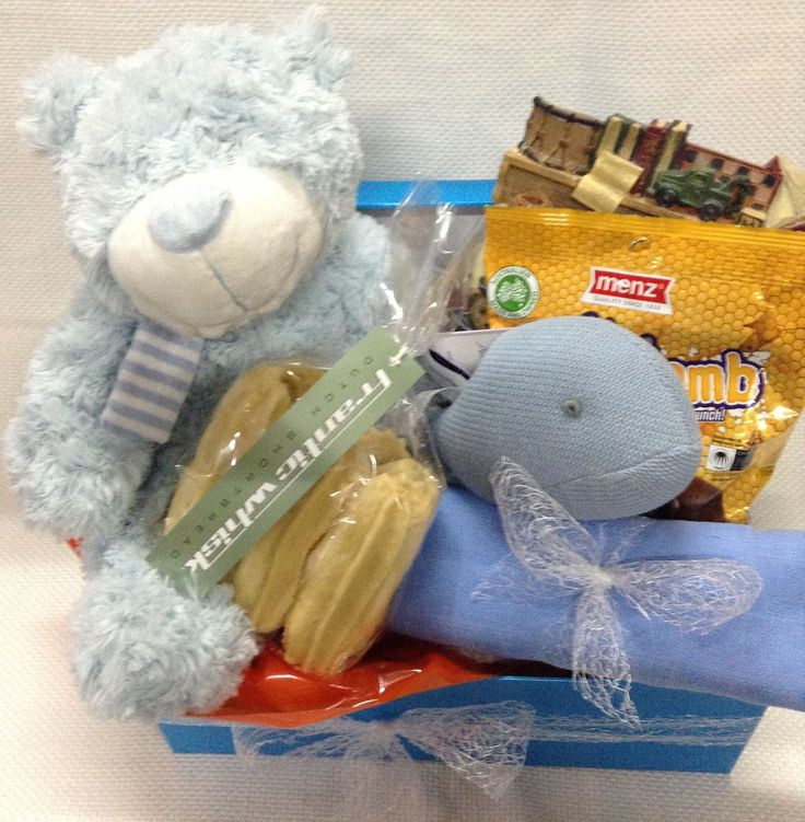 Baby Boy Basket.