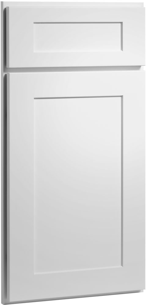 white shaker cabinet doors. the dayton painted white shaker inspired recessed panel doors and drawer fronts are reminiscent of true cabinet i