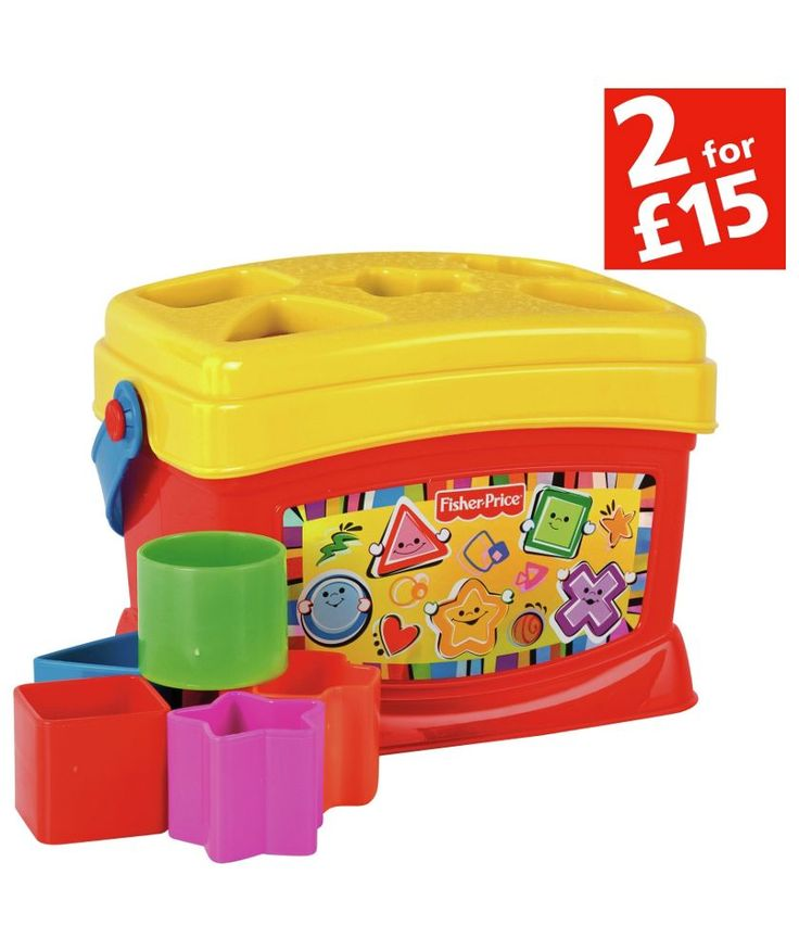 Buy Fisher-Price Baby's First Blocks at Argos.co.uk - Your Online Shop for 2 for 15 pounds on Toys, Baby activity toys.