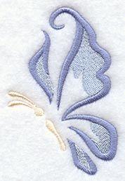 Gossamer Wings design (A8724) from www.Emblibrary.com