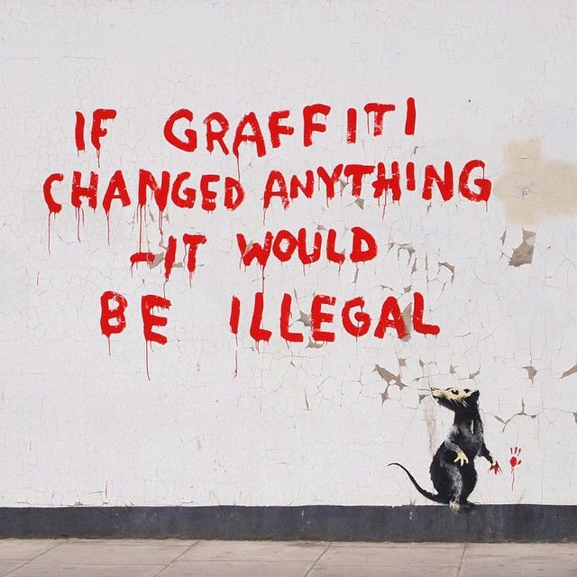 40 Powerful Photos Show Why Banksy Is the Spokesman of Our Generation - MicWhat does it all mean?