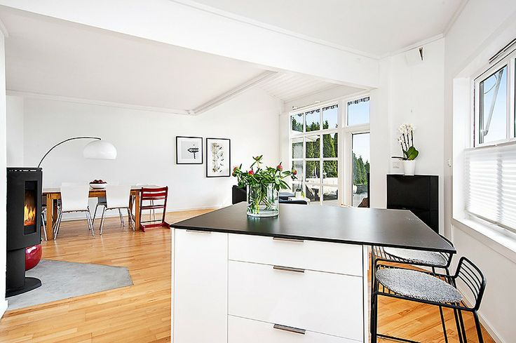 Living room photographed from kitchen