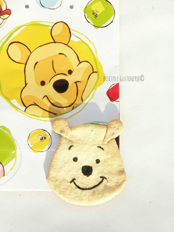 Winnie the Pooh #cookies #glutenfree sul mio #blog:http://unpodibricioleincucina.blogspot.it/2015/10/winnie-pooh-cookies-gluten-free.html #merenda #biscotti #ninos #bambini #glutenfreerecipes #cartoons #frolla #glutenfreerecipes  #recipes #cosebelle  #kids #senzaglutine #sansgluten #singluten #recipes  #snack #nice #winniethepooh