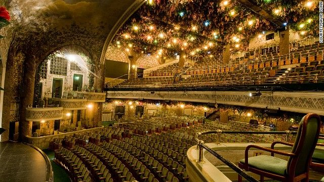 Toronto's Winter Garden Theater Center -- part of the only operational double-decker theater in the world.