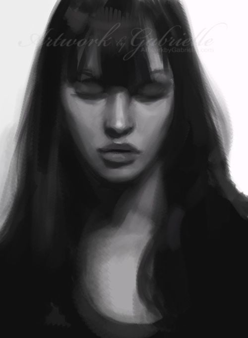 Speed paint for practice :) -Photoshop CS5 and wacom intuos 3