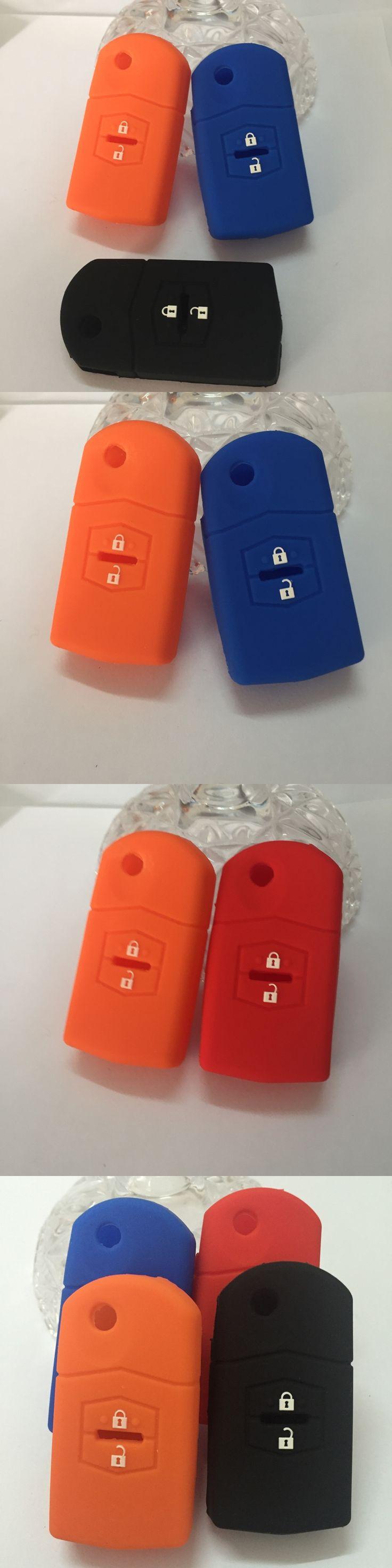 Silicone Key Cases Cover Fit For Mazda 3 Mazda 2 Mazda 6 2003 2004 2005 2006 2007 2008 2009 2010 2011 2012 2013 car key cover