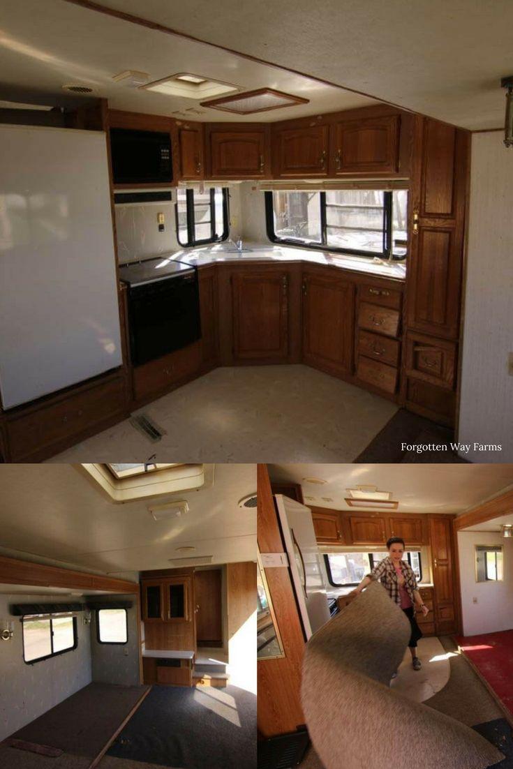 Top Ten Cheap Diy Rv Remodel Ideas Remodeled Campers
