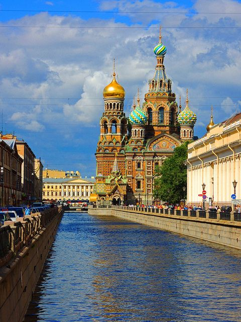 I've heard great things about St. Petersburg, Russia. I'd love to go !