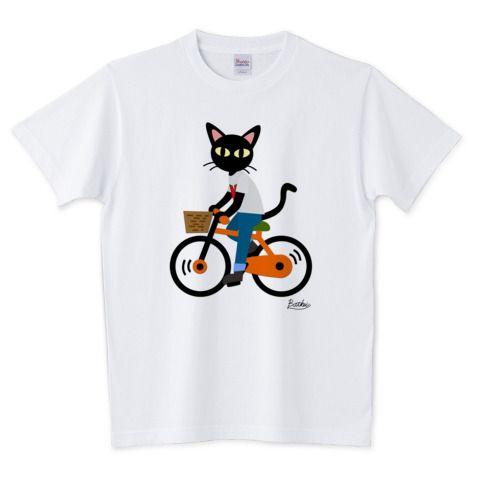 Summer cycling | デザインTシャツ通販 T-SHIRTS TRINITY(Tシャツトリニティ) by BATKEI