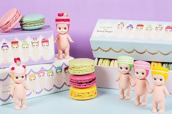 Laduree x Sonny Angel's Macaron Box & Figures