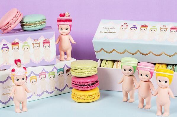 Laduree x Sonny Angel's Macaron Box & Figures