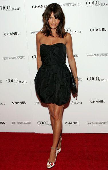 Helena Christensen Skinny Pants - Helena Christensen Looks - StyleBistro