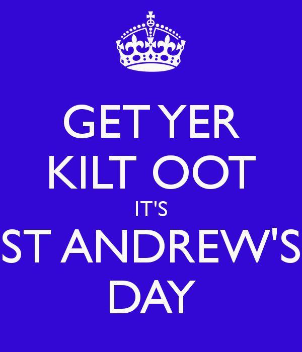 MyLunaRose: Happy St Andrews Day