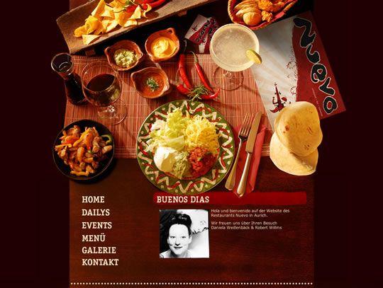 Best Restaurant Web Design Images On Pinterest Restaurant