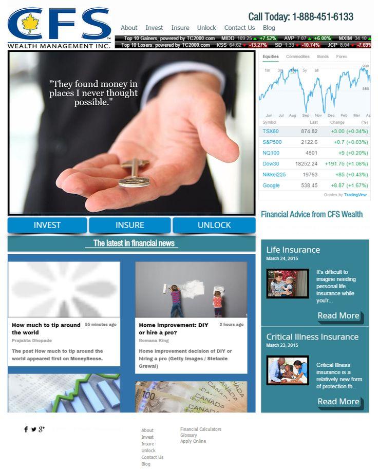 CFS Wealth Website