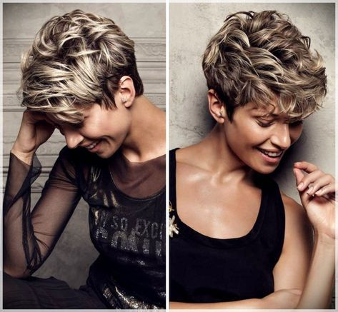 Short Hair Winter 2018: images of the most beautiful cuts #shortcuts2018 #shortcuts2019 #shorthaircuts2018